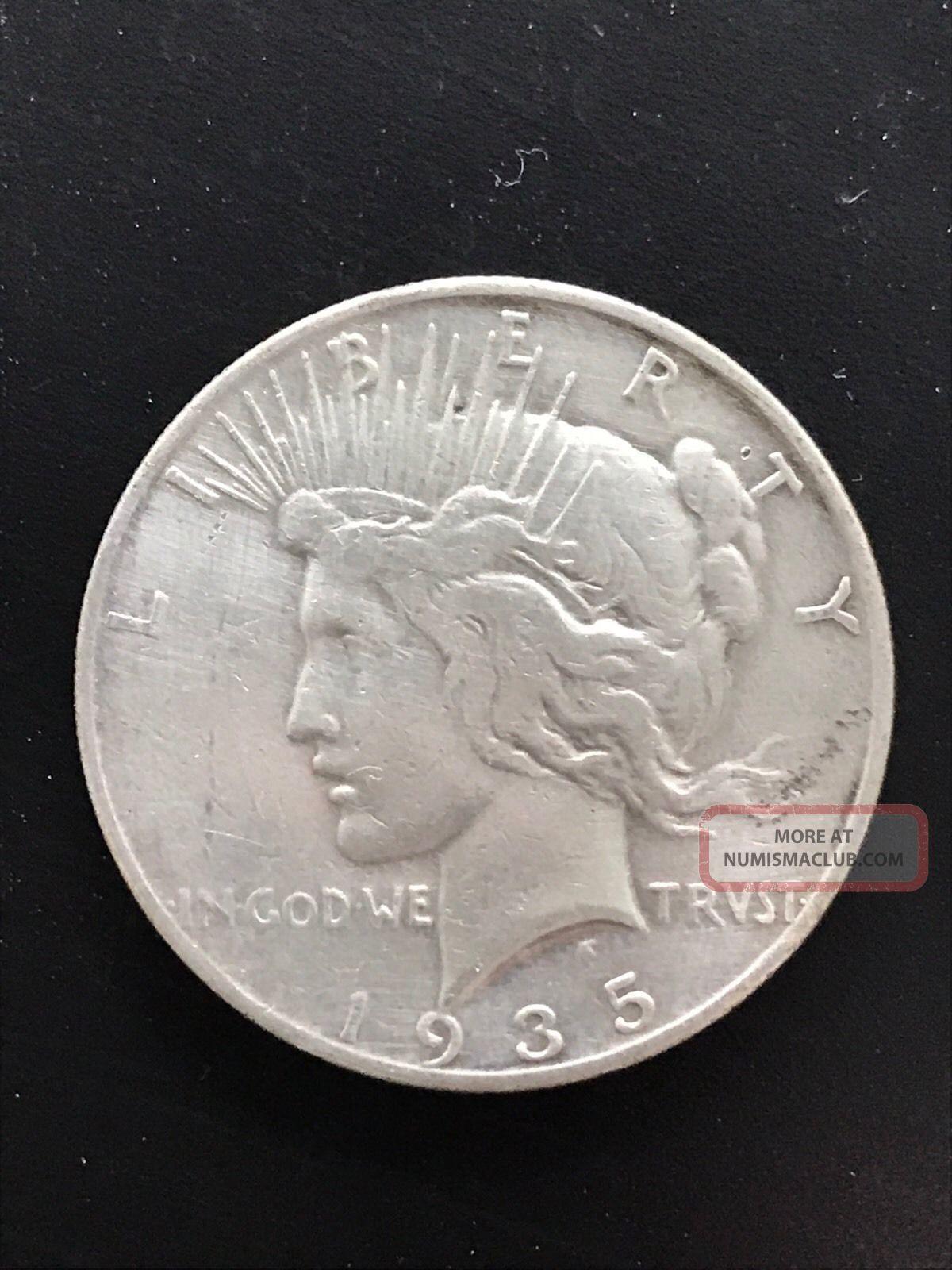 1935 - S $1 Peace Dollar, Peace (1921-35) photo