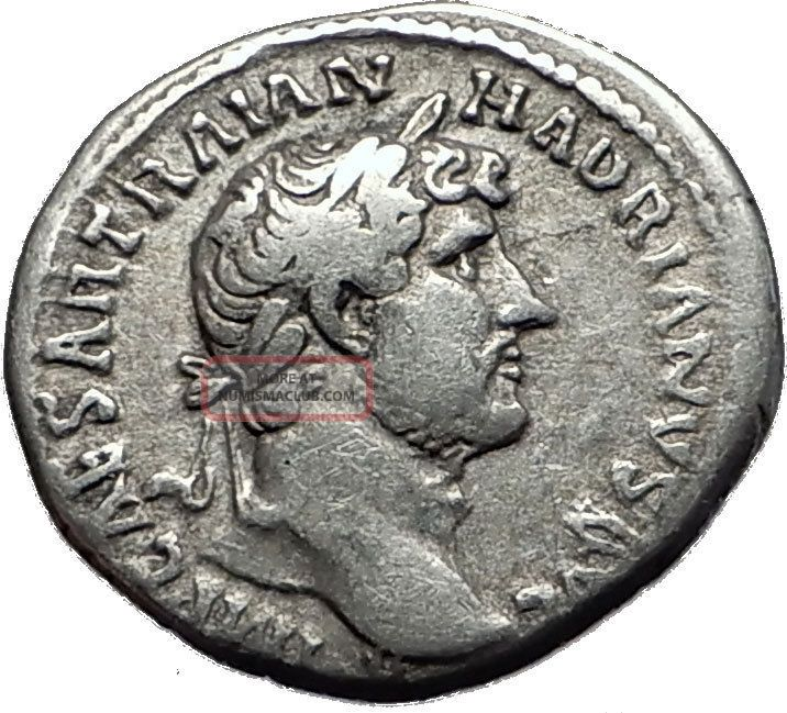 Hadrian 117 - 138ad Silver Rare Ancient Roman Coin Clementia Mercy I58525 Coins: Ancient photo