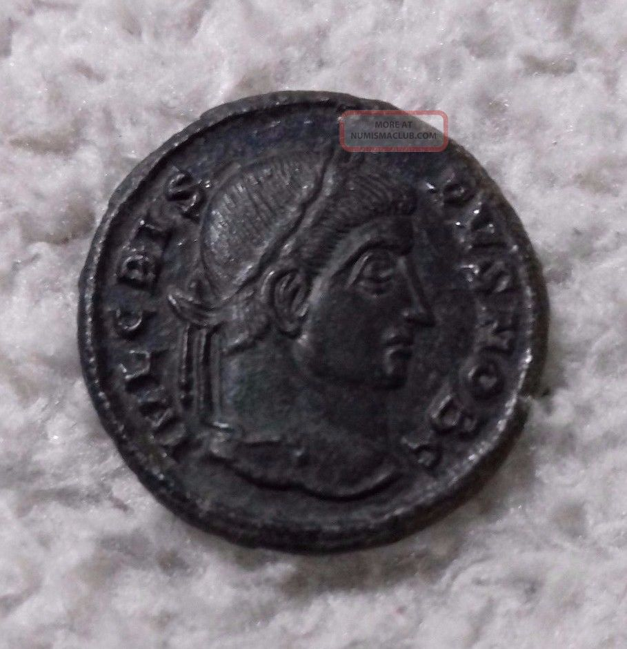 Crispus,  Caesar 321 - 324 Ad Siscia Coins: Ancient photo
