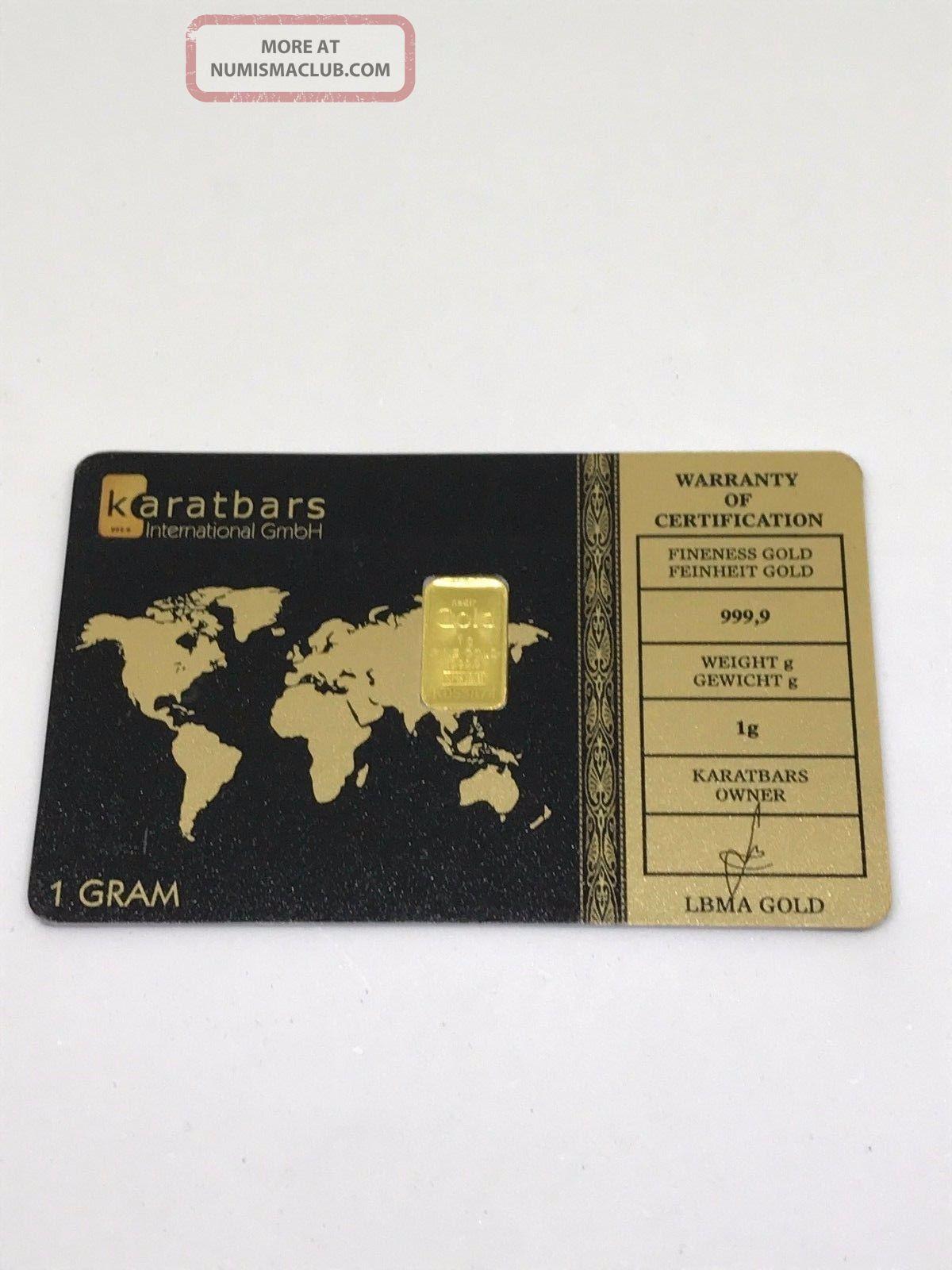 1g Fine Gold Bar 999,  9 Gold photo
