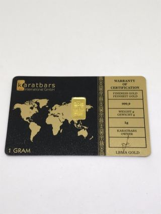 1g Fine Gold Bar 999,  9 photo
