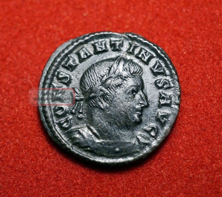 Ae 17mm Of Constantine Marti Conserv Trier Coins: Ancient photo