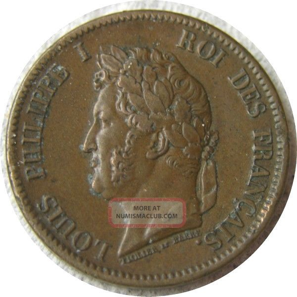 Elf French Colonies 5 Centimes 1844 A Marquesas France photo