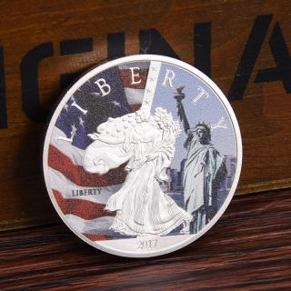 1pc 2017 Us Liberty Commemorative Coin Gift photo