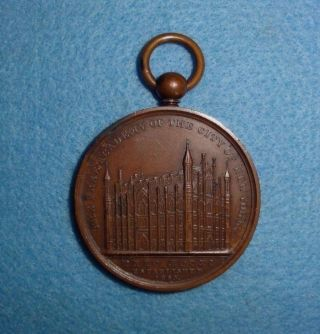 1853 C.  C.  Wright U.  S.  Medal - - Academy Of The City Of York,  Awarded photo