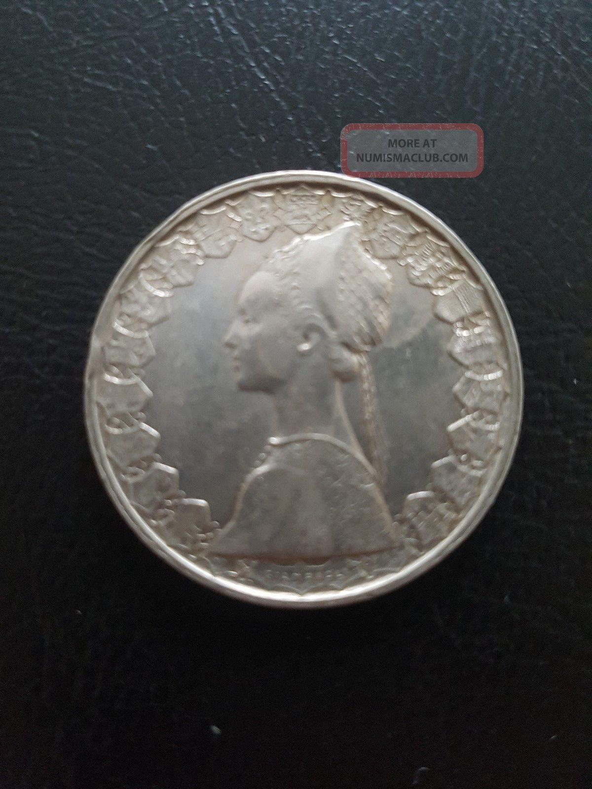 500 Lire Silver Italian Coin 1959 Italy, San Marino, Vatican photo
