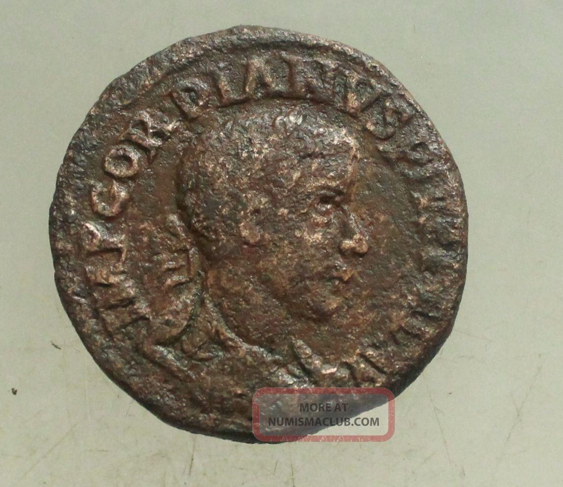 L6 Gordianus Iii Bronze 30mm 16g Viminacium Dacia Tma Coins: Ancient photo