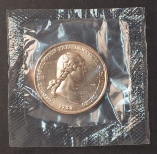 George Washington Commemorative Medal 1 1/4 Inch In photo