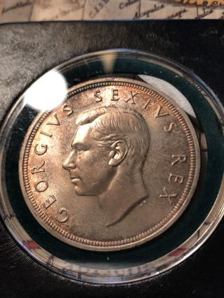 South Africa 1948 5 Shilling