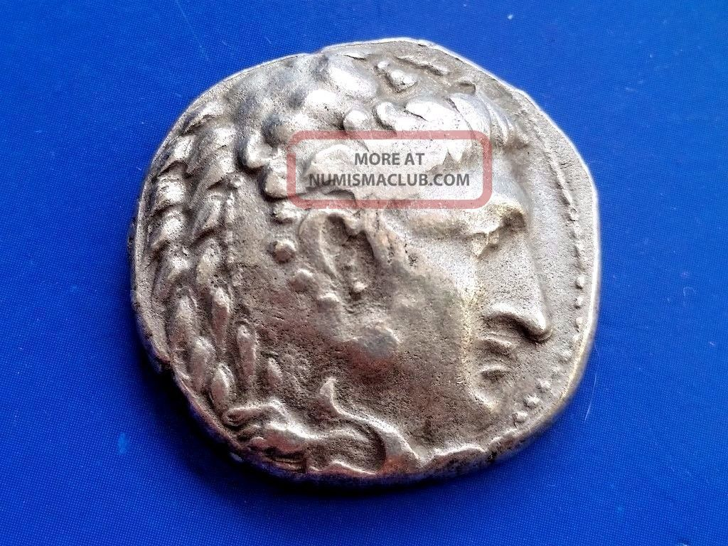 41.  Alexander The Great,  The King Of Macedonia,  Ar Tetradrachm,  17,  32g; 27mm Coins: Ancient photo