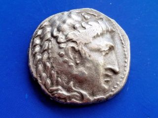 41.  Alexander The Great,  The King Of Macedonia,  Ar Tetradrachm,  17,  32g; 27mm photo
