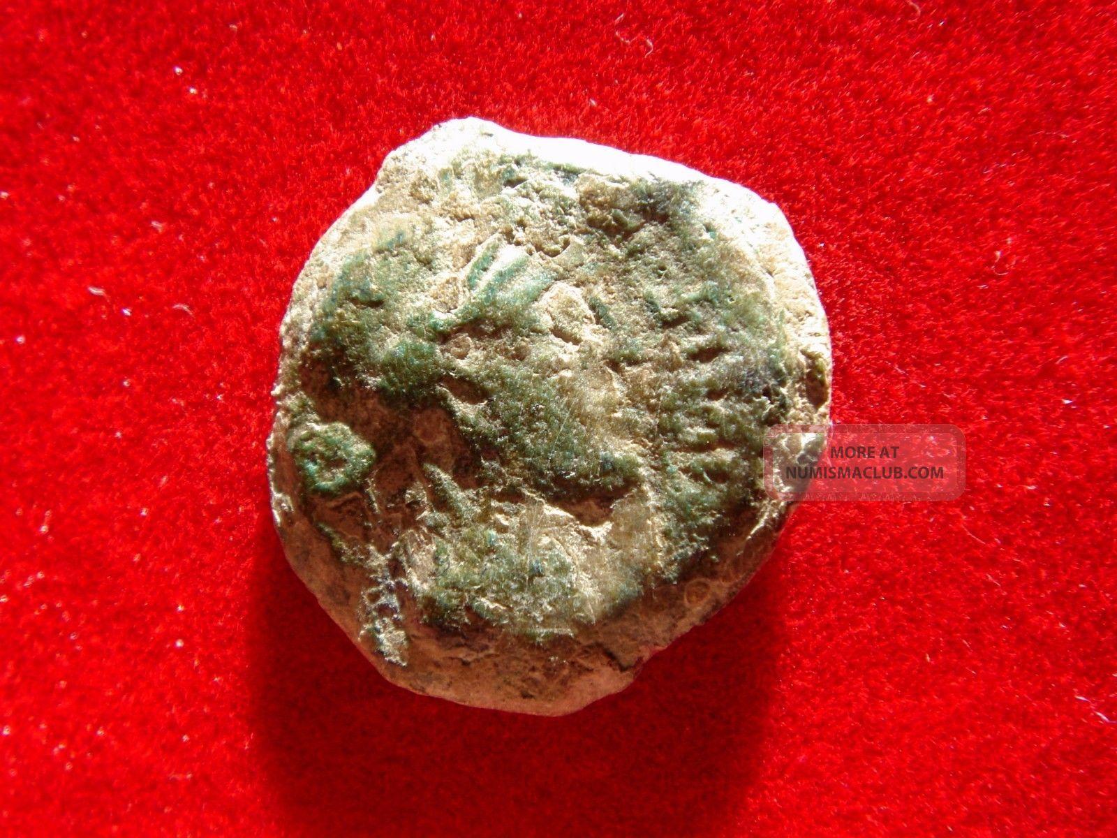 Lucernae Corduba Spain,  Bronze Semis.  Venus/cupid.  Julius Caesar Times. Coins: Ancient photo