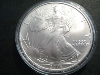 2006 One Ounce Silver American Eagle photo