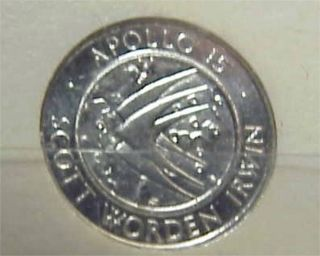 Platinum 1971 Apollo 15 Franklin