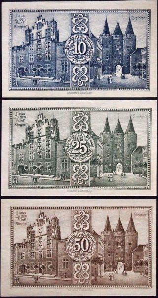 Goch 1921 Series B Complete German Notgeld photo