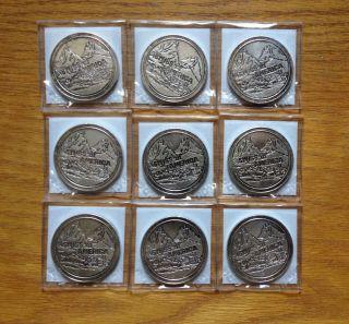 Swiss Of America 1oz 0.  999 Silver Round - Large Diameter - Draper - Rare photo