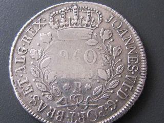 Rare 1819 - R Brazil 960 Reis photo
