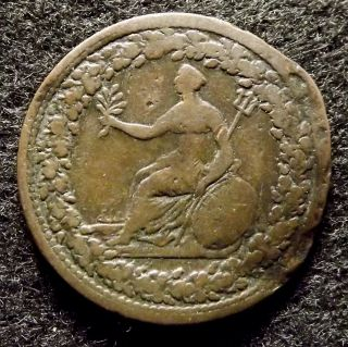 1813 Canada Half Penny Spread Eagle Token (866) photo