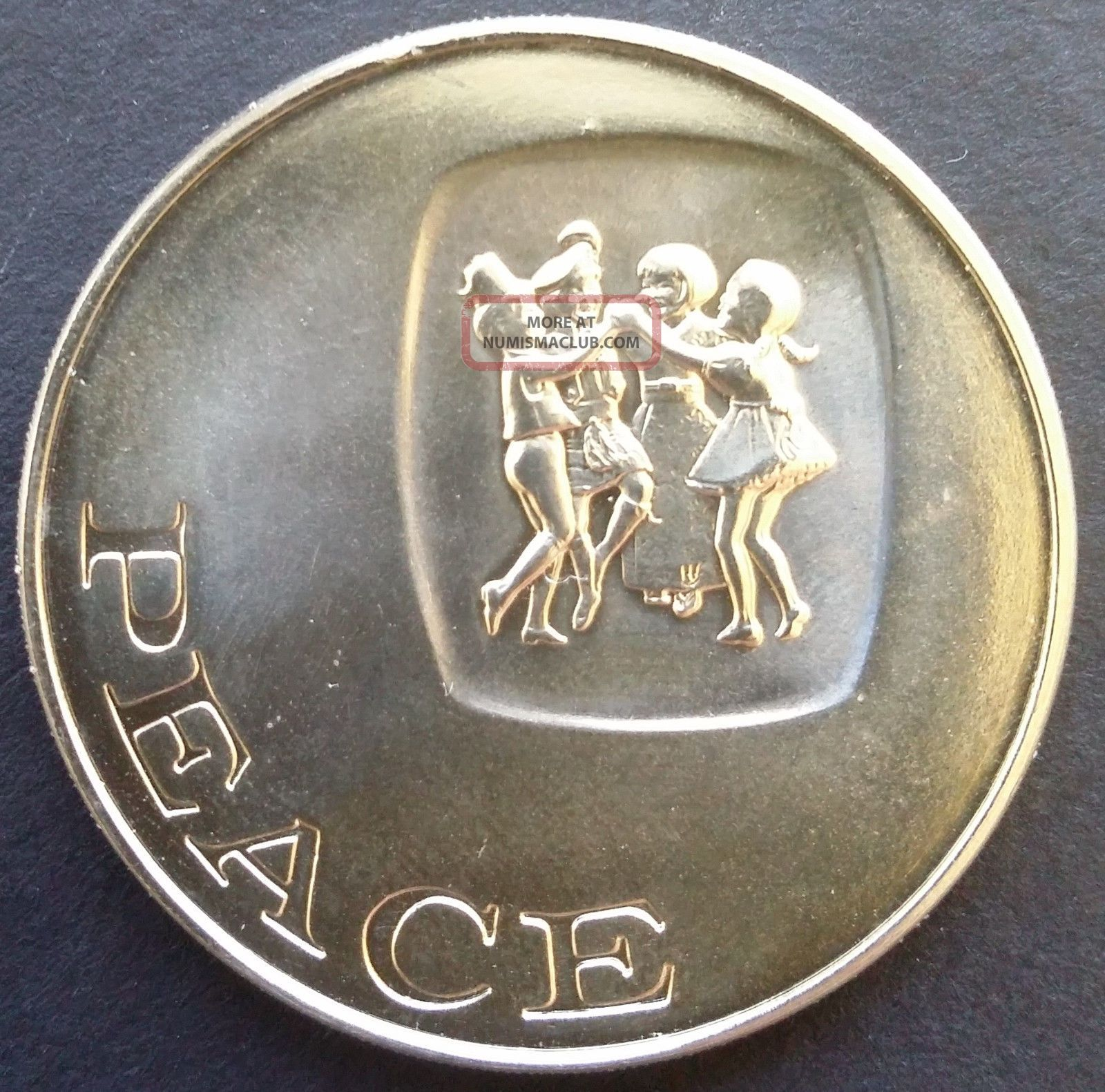 1968 Limited Edition Franklin Peace Medal Exonumia photo