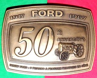 Ford / 1917 Ford 1967 / Henry Ford First To Produce Tractors / 50º.  Anniversary photo