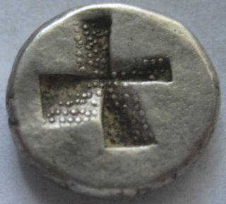 Asia Minor Bithynia Kalchedon 340 - 220 B.  C 1/5 Stater Silver Very Rare photo
