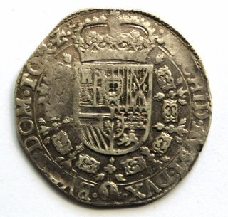 (4) Netherlands - Tornau - Patagon Thaler 1631 Ad - Silver 28,  20 Gr photo