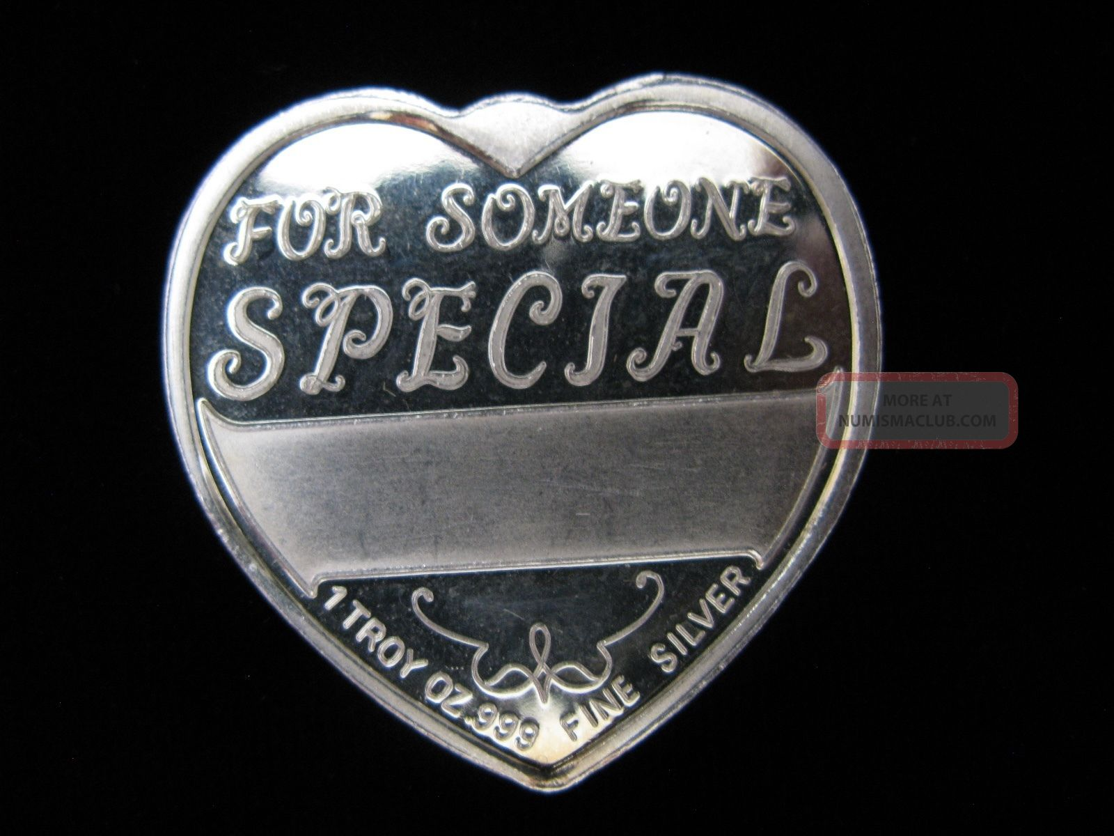 Virgo Zodiac Heart Shaped 1 Troy Ounce Silver 999 Fine