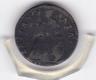 1700 King William Iii Farthing (1/4d) British Coin photo