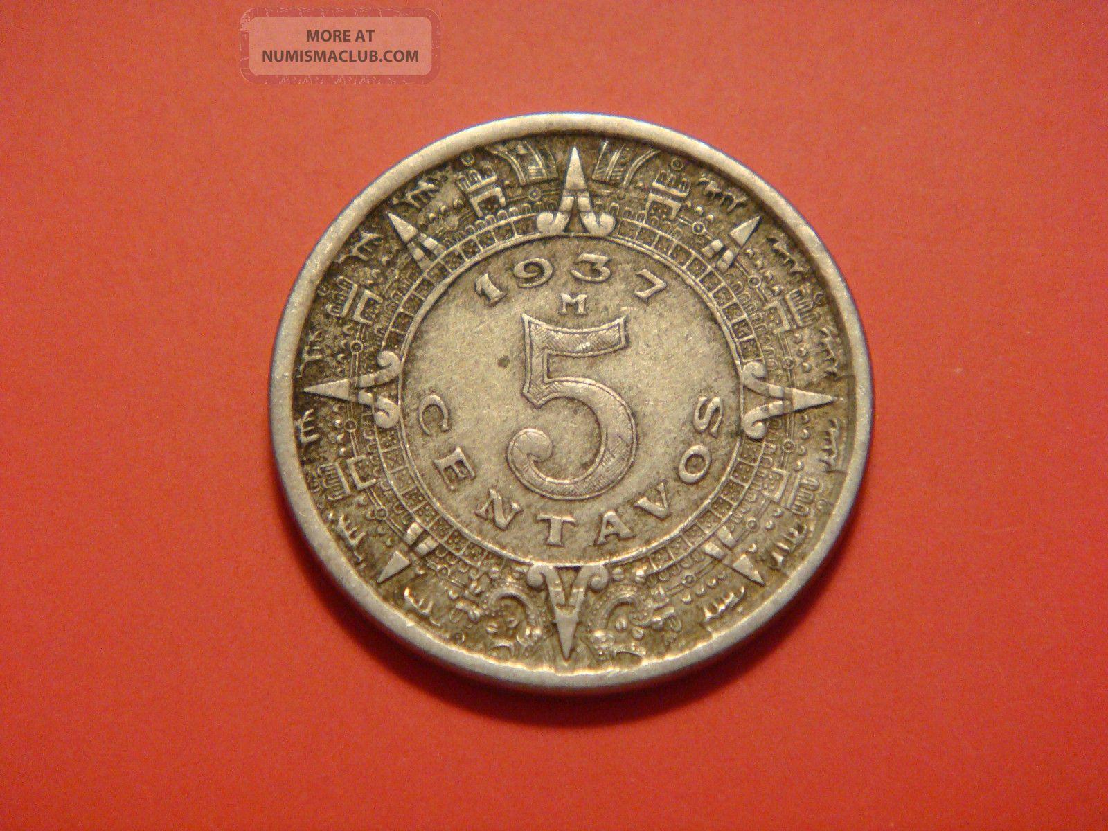 Mexico 5 Centavos 1937