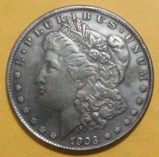 1903 - Cc Morgan Dollar