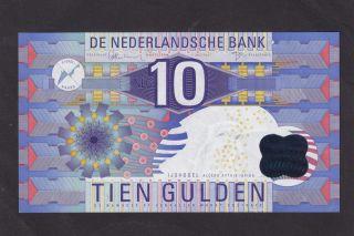 Netherlands 10 Gulden 1997 P - 99 Au/unc photo