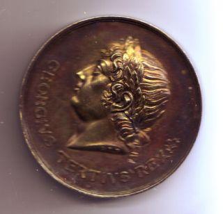 Geo.  Iii Medal,  Mai Da,  1806 photo