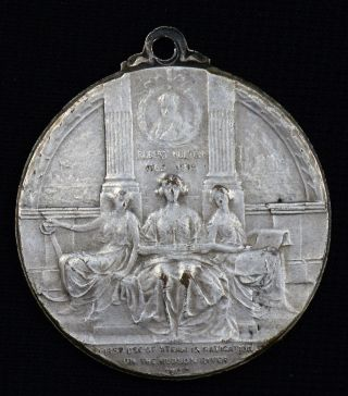 1909 Hudson - Fulton - First Use Of Steam On The Hudson Medal photo