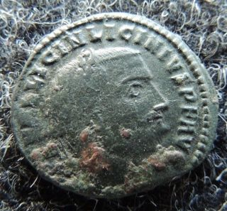 Roman 313 - 315 Licinius I Ae Follis Awesome Ancient photo