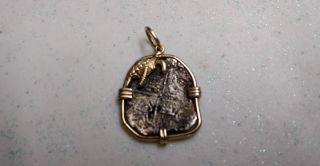 Spanish Silver 1622 Atocha 4 Reales Silver Coin Philip Iii Potosi Grade 4 photo