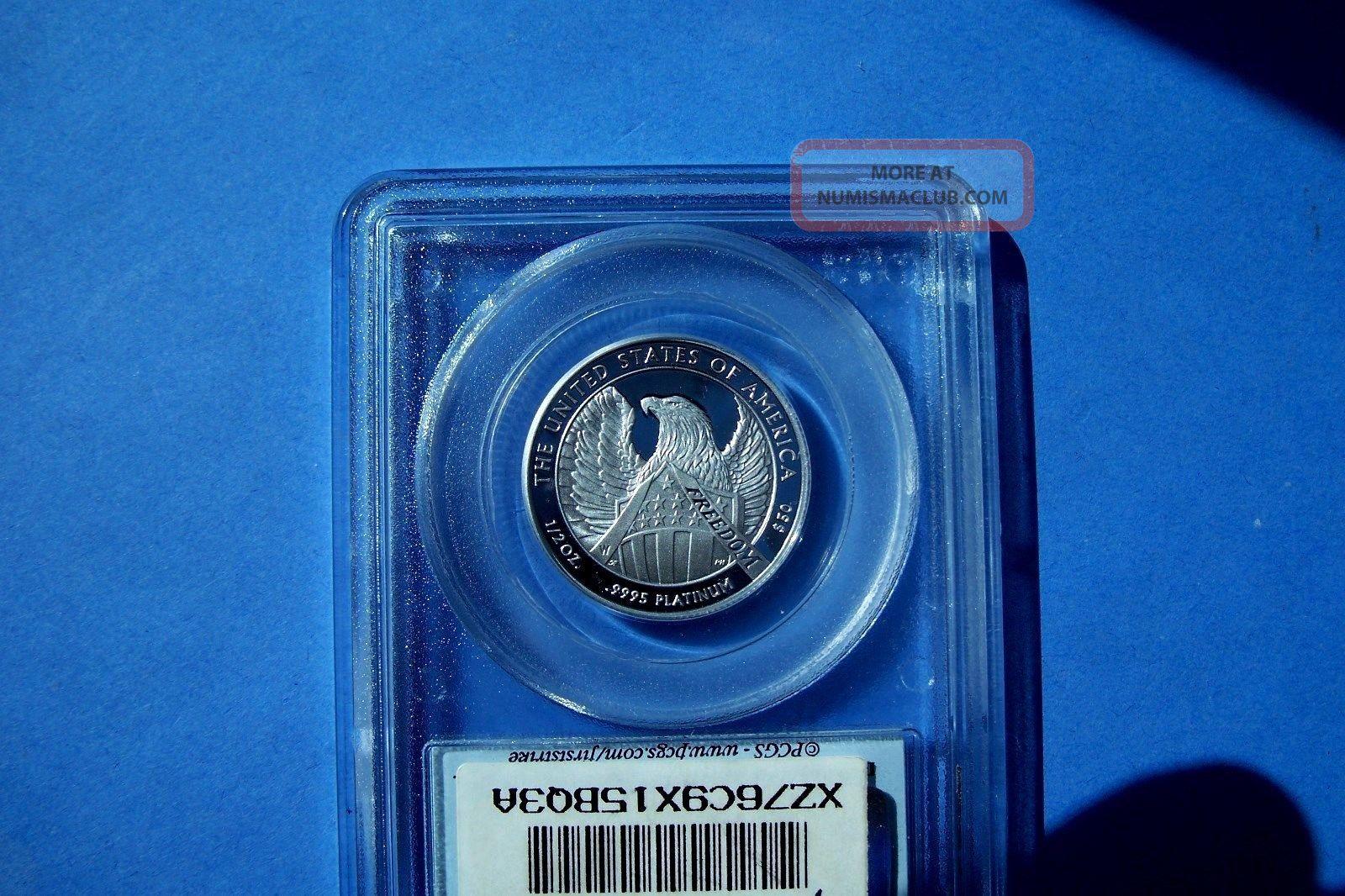 2007 - W $50  First Strike  Pcgs Pr70dcam,  1997 - W $50 Pcgs Pr70dcam Platinum photo