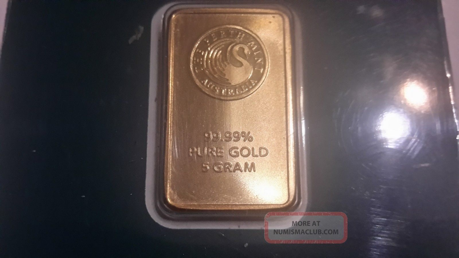 5 Gram Perth 24k Gold Bar
