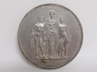 Antique Estate Found First Nordic Exhibition Of 1872 Copenhagen Denmark Medal photo