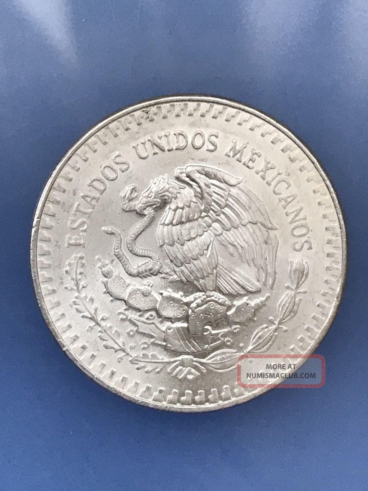 1983 Mexico Libertad 1 Oz Onza 999 Silver Plata Pura