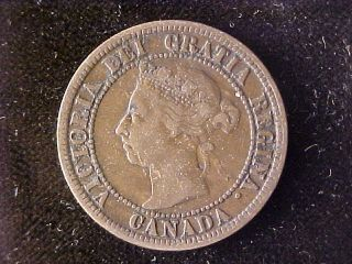 Canada One Cent 1891 Ll photo