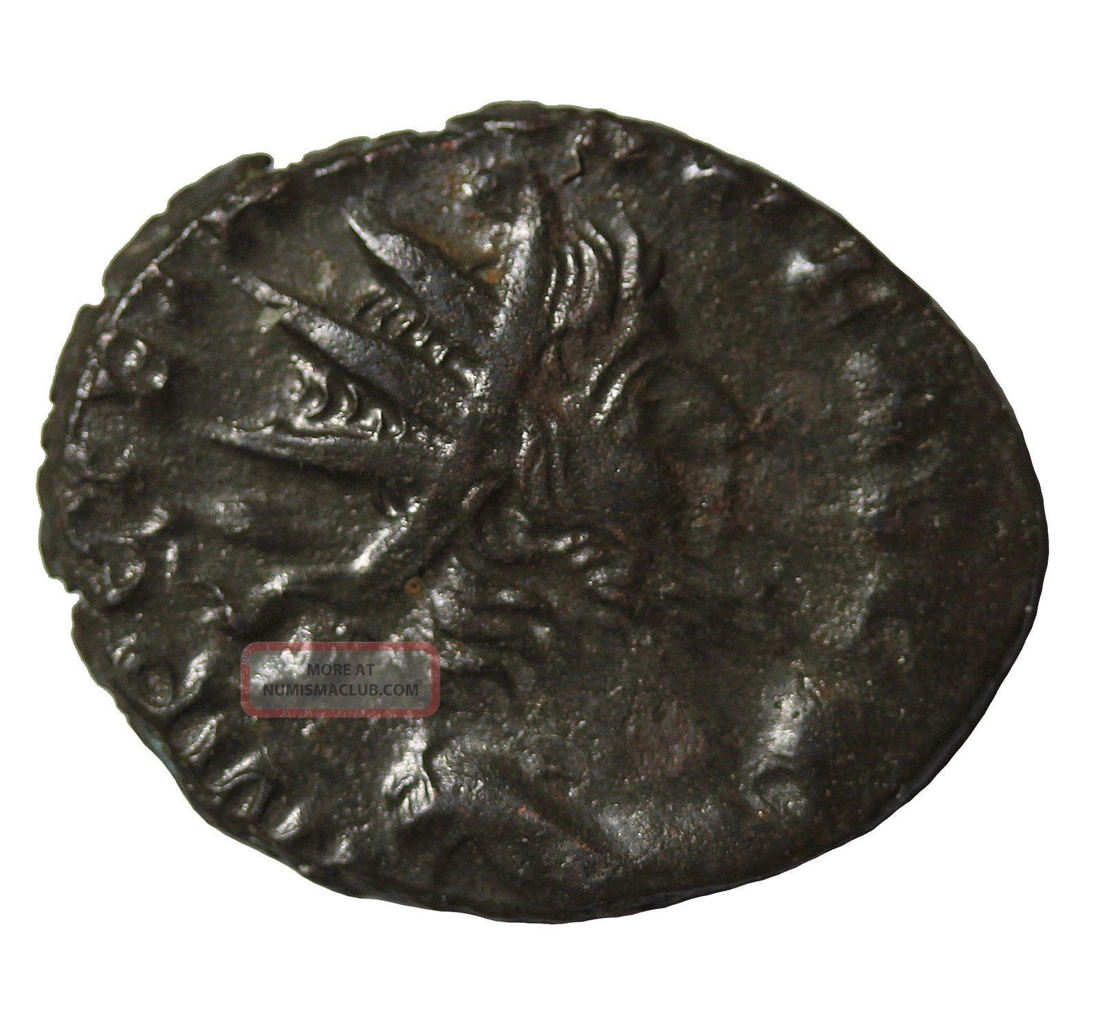 Victorinus 268 - 270 Ad Ae Antoninianus Ric.  66 Ancient Roman Coin Coins: Ancient photo