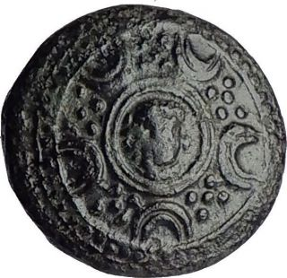 Alexander Iii The Great 336bc Shield Helmet Authentic Ancient Greek Coin I60773 photo
