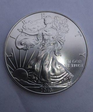 2013 American Silver Eagle 1oz.  999 Fine Silver Brilliant Uncircutate photo