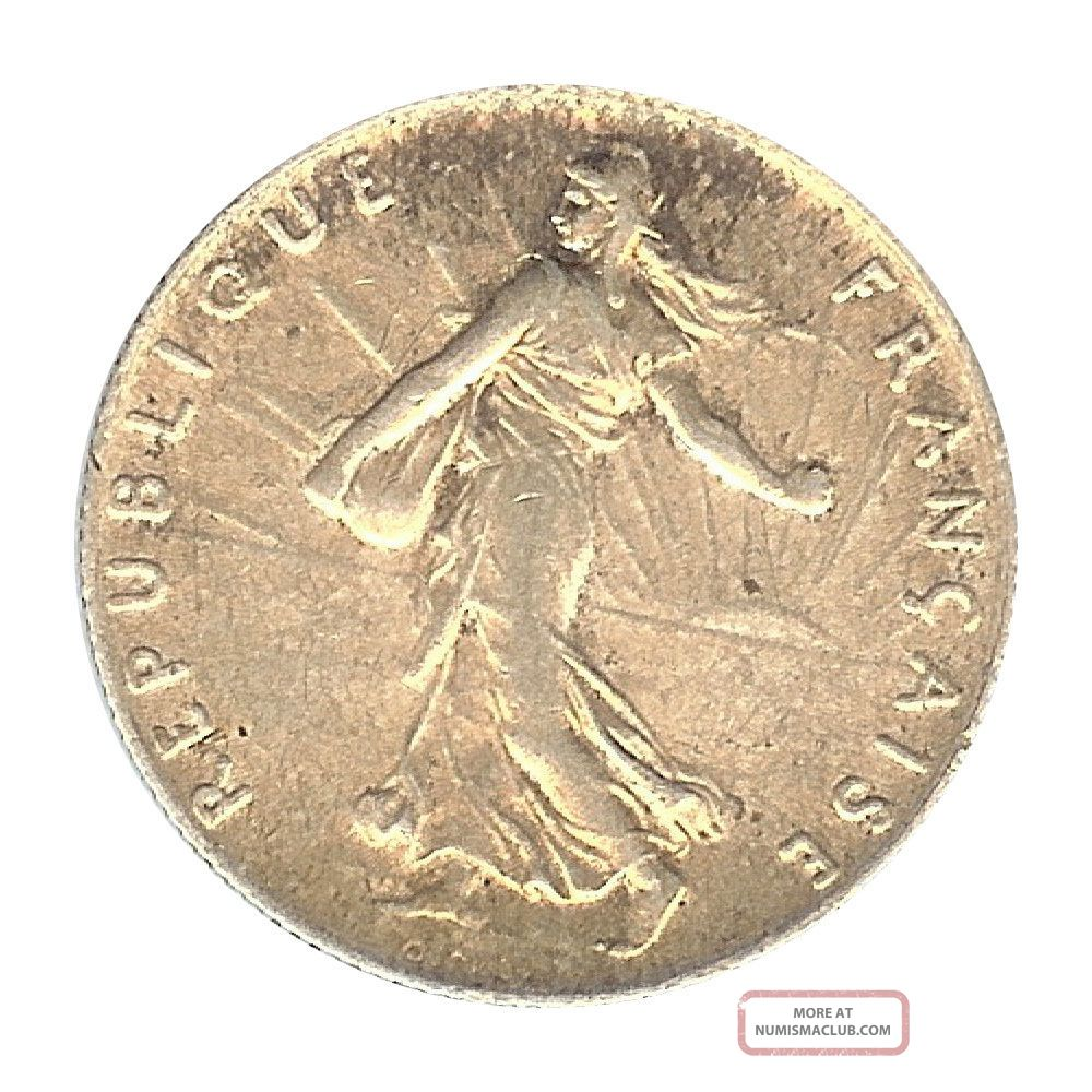 France - Iii Republic - 50 Centime 1913 Au Europe photo