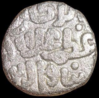 India - Delhi Sultan - Ala Al Din Muhammad - 2 Gani (ah 695 - 715) Billon Coin T86 photo