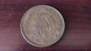 Mexico 1957,  50 Centavos photo