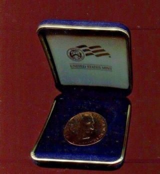 2005 George W Bush Inauguration Medal Copper photo