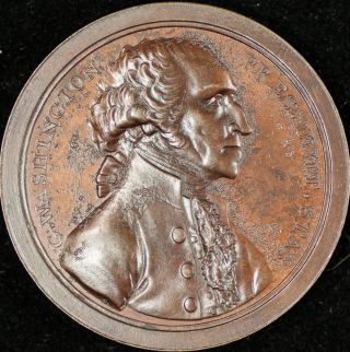 George Washington Presidency Relinquished Medal - Dies photo