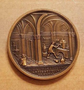 Hungary Hungarian Bronze Medal Et Separ Artis Studium Corrosion Commision photo