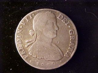 Mexico Bust 8 Reales 1810hl,  Weak Date photo